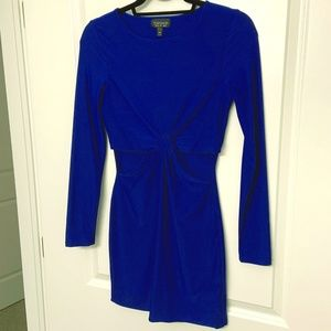Women's Topshop Blue mini dress size 6